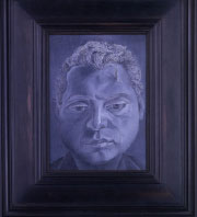 Portrait of Francis Bacon by Lucian Freud