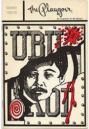 Playbill for Ubu Roi
